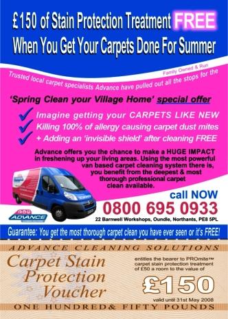 Carpet Cleaning Flyer Qi Marketing amp Web Design